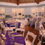 wedding venue tables