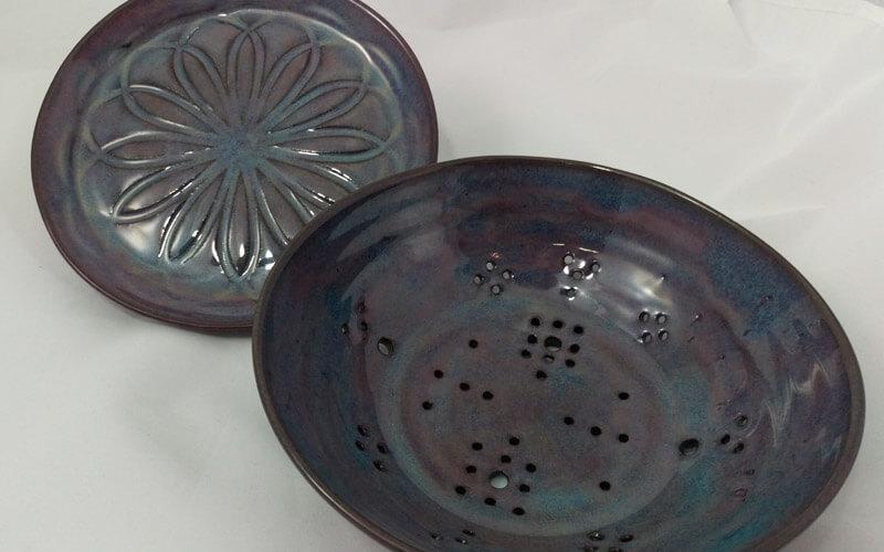 pattery pieces made by artist Karen Blynn