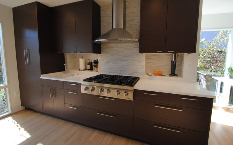 image of a redesigned kitchen by Alan Denniston, Architect