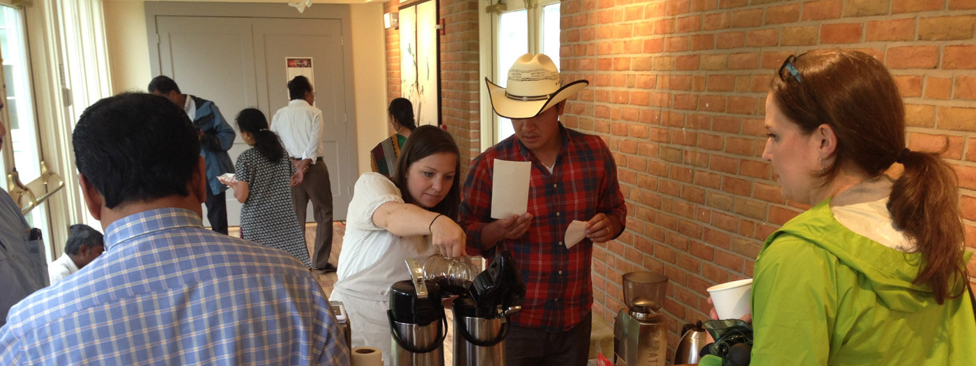 Cafe Los Suenos serves coffee