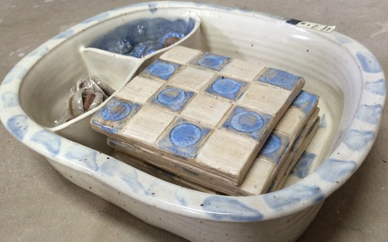 Checkerboard Pottery designed by Robin Ziek