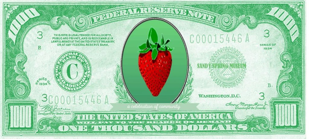 $1000 Raffle dollar