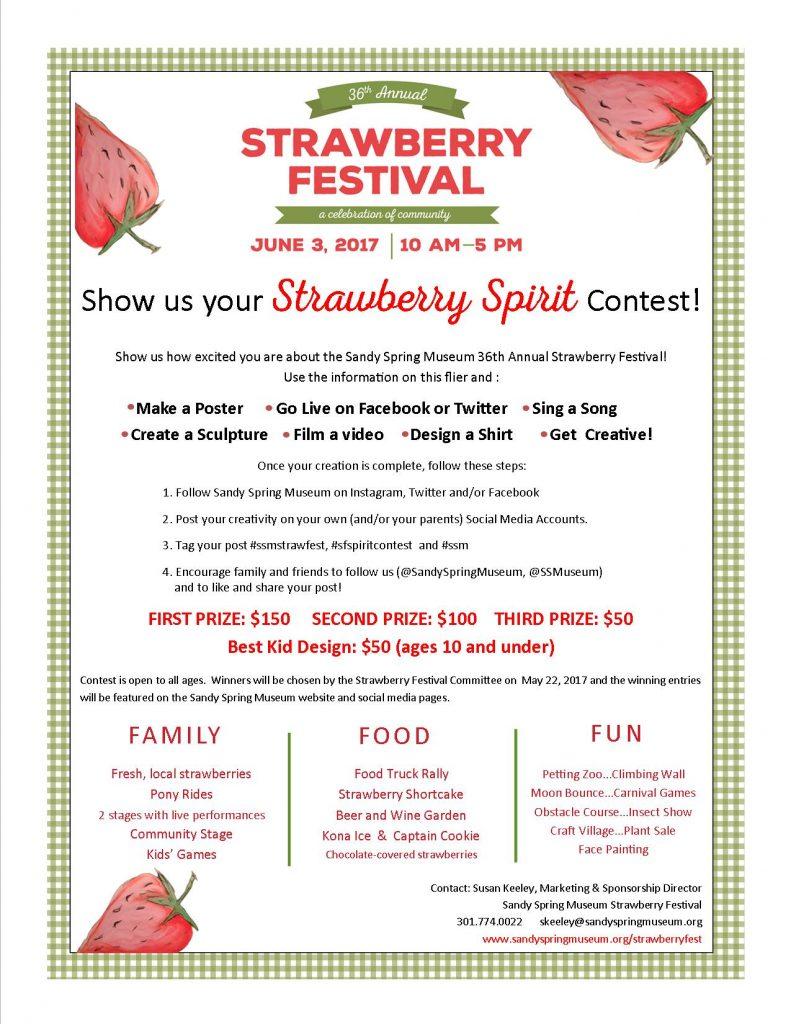 Strawberry Spirit Contest