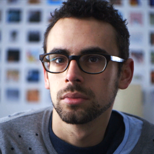Image of a man with glasses