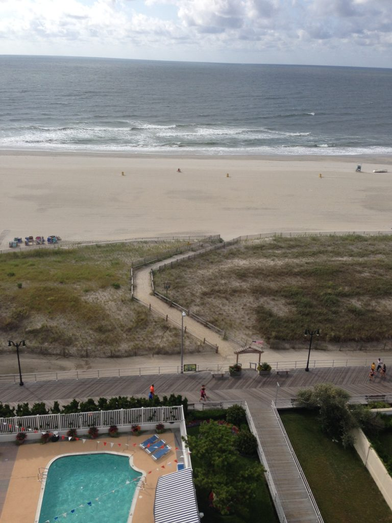 Atlantic City Ocean Balcony