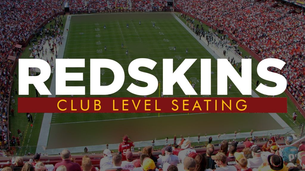 Redskins Club Tickets