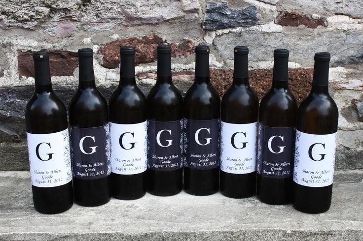 Custom Wine Bottles Sample