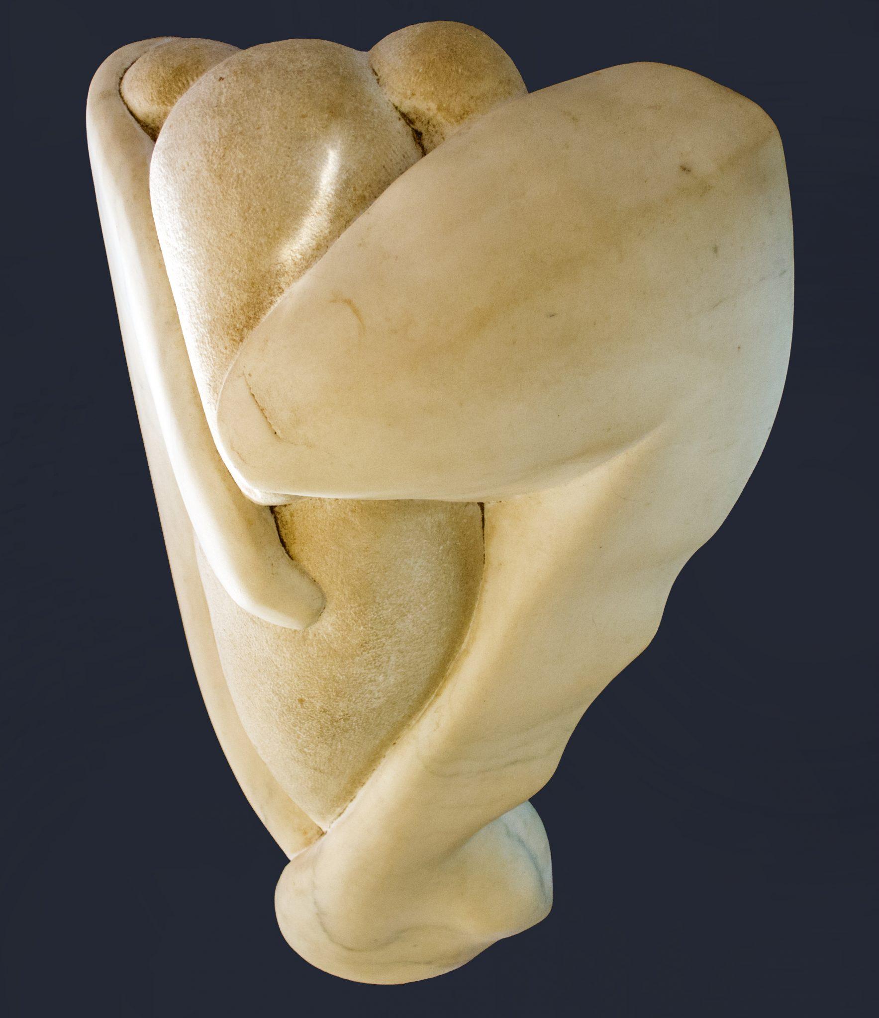 close up of a sculpture