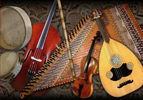Middle Eastern Instruments 1