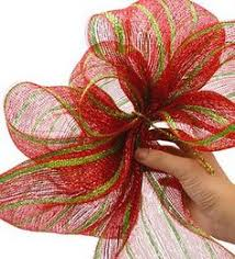 red and green bow