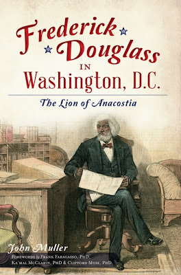 frederick douglass in washington d.c. cover wiht John Muller sitting in the background