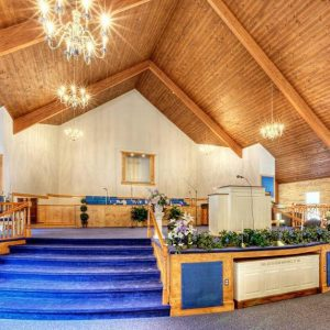Inside image of Round Oak Missionary Baptist Church