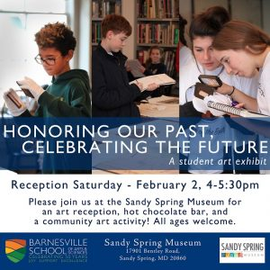 Honoring Our Past, Celebrating the Future Reception invitation