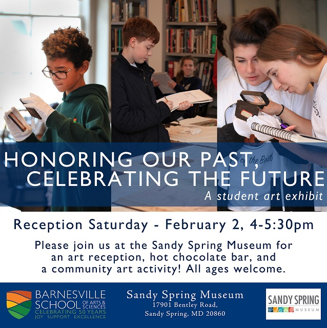 Honoring Our Past, Celebrating the Future Reception invitation