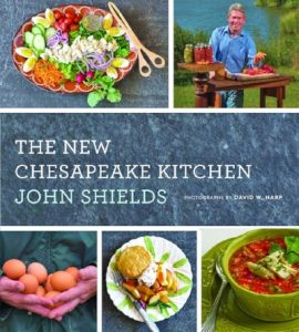 """Cover of cookbook """"The New Chesapeake Kitchen"""" by John Shields"""