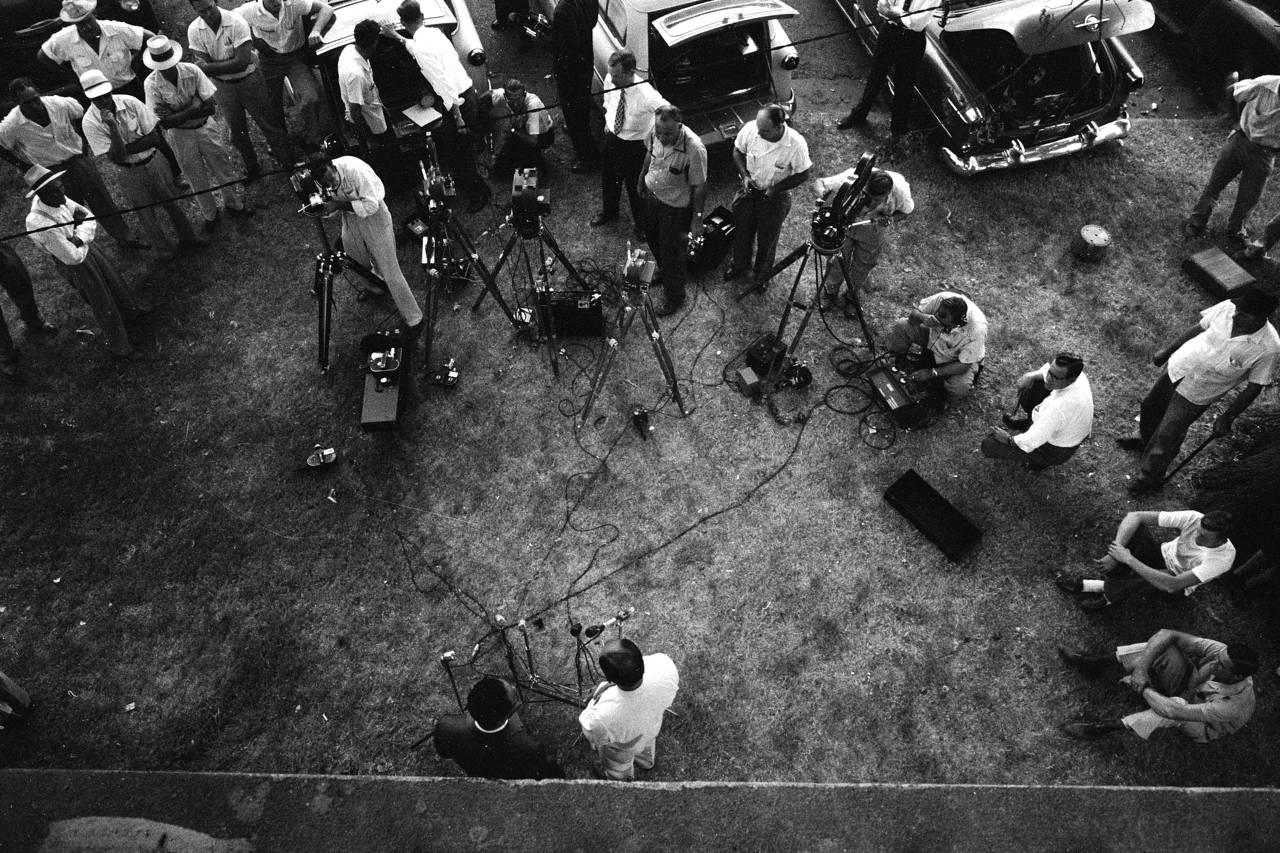 Emmett Till Killing Press Conference 1955