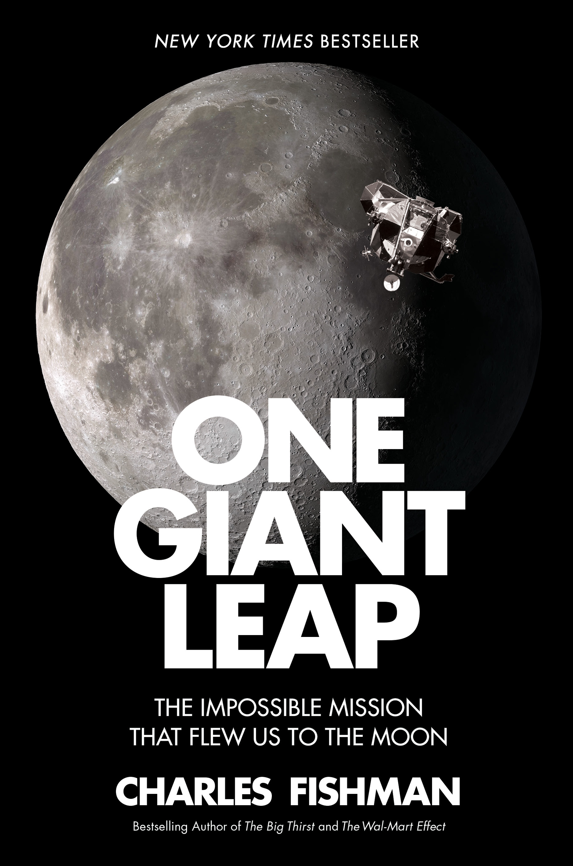 Cover of One Giant Leap by Charles Fishman